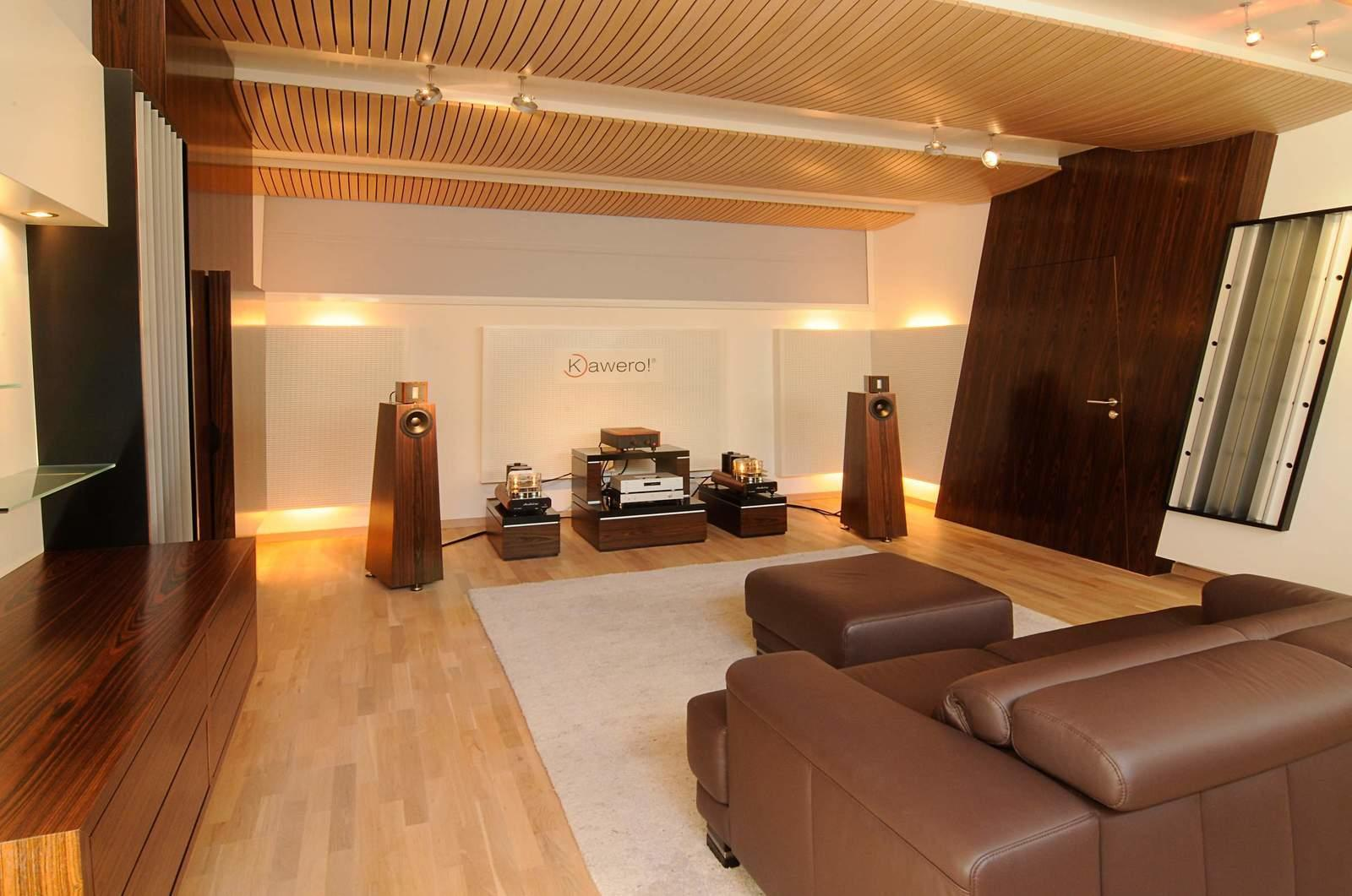 Listening Rooms Room Treatment Kaiser Acoustics Germany