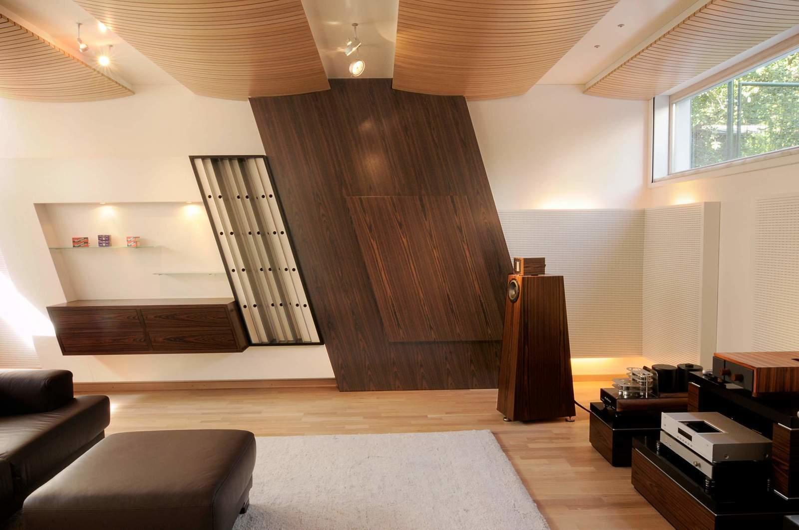 Listening rooms room treatment Kaiser acoustics germany High