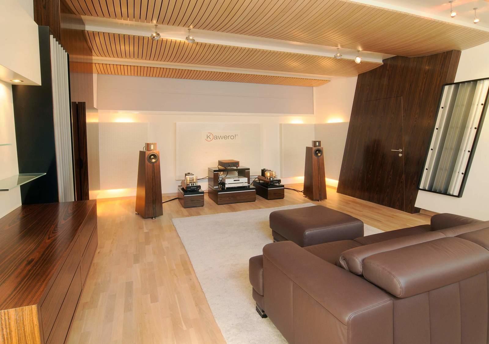 Listening Rooms Room Treatment Kaiser Acoustics Germany